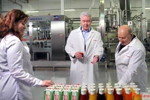 Производство соков: заключение