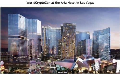 Wolrd Crypto Con в гостинице Aria