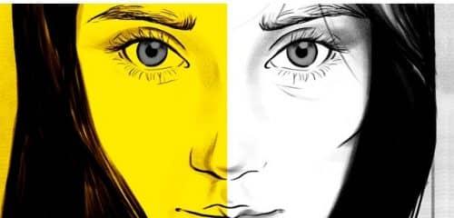 Какого цвета глаза у девушки