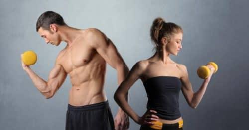 Занятие спортом в домашних условиях и питание