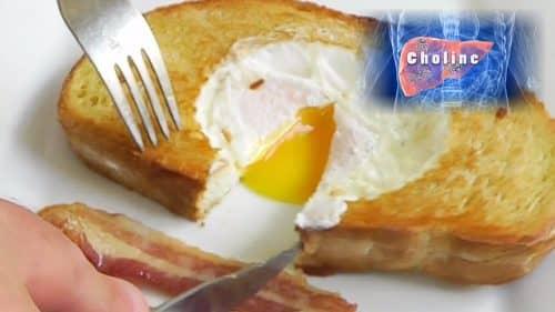 Choline в яйцах